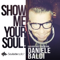 Logo of the podcast SOULSIDE Radio presents DANIELE BALDI // Exclusive Guest Mix Session // 12.2016