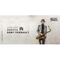 "Logo of the podcast Samy Thiébault, ""Rebirth"" au Maroc..."