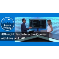 Logo of the podcast HDInsight: Fast Interactive Queries with Hive on LLAP | Azure Friday
