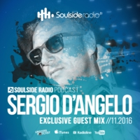 Logo of the podcast SOULSIDE Radio presents SERGIO D'ANGELO // Exclusive Guest Mix Session