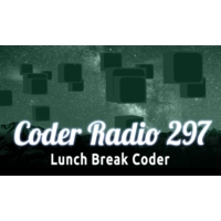 Logo of the podcast Lunch Break Coder | CR 297