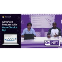 Logo of the podcast Advanced Features with Azure Service Bus | On .NET