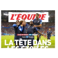 Logo of the podcast Coupe du Monde 2018 : la presse fête les Bleus