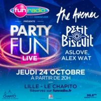 Logo of the podcast PARTY FUN LIVE à LILLE - PETIT BISCUIT (24/10/19)