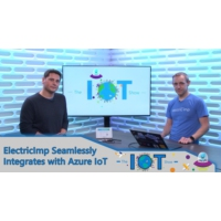 Logo of the podcast Electric Imp seamlessly integrates with Azure IoT | Internet of Things Show
