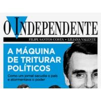 """Logo of the podcast PBX: """"'O Independente' era o jornal de direita que a esquerda adorava"""""""