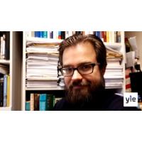 Logo of the podcast Onko EU syntynyt vain liike-elämän  ehdoilla, professori Niklas Jensen-Eriksen?