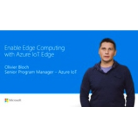 Logo of the podcast Enable edge intelligence with Azure IoT Edge | Connect(); 2017