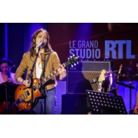 "Logo of the podcast Keren Ann en concert dans ""Le Grand Studio RTL"""