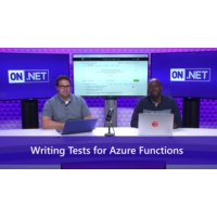 Logo of the podcast Writing Tests for Azure Functions | On .NET