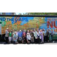 Logo of the podcast Nuns on the Bus at the DNC: Sister Simone Campbell on Abortion Rights, Wealth Gap, Kaine in Honduras
