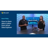 Logo of the podcast How to share data in place from Azure Data Explorer | Azure Friday
