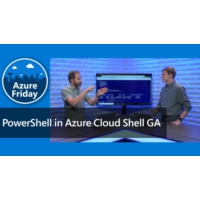 Logo of the podcast PowerShell in Azure Cloud Shell GA | Azure Friday