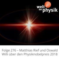 Logo of the podcast Folge 276 – Physiknobelpreis 2018