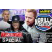 Logo of the podcast Gorilla Position ep064: WWE WrestleMania countdown special from Dallas, Texas