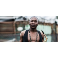 Logo of the podcast Seun Kuti, son of Nigerian music icon Fela, has a message for the world's elites