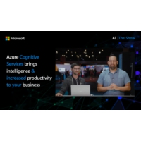 Logo of the podcast Azure Cognitive Services brings intelligence & increased productivity to your business processes  |…