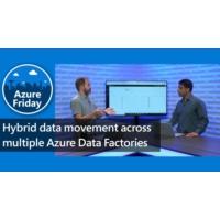 Logo of the podcast Hybrid data movement across multiple Azure Data Factories | Azure Friday