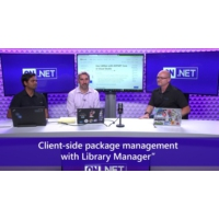 Logo of the podcast Client-side package management with Library Manager | On .NET