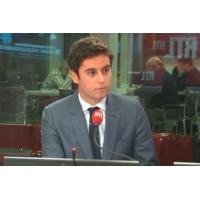 """Logo of the podcast Service national universel : """"Les jeunes auront envie de le faire"""", dit Gabriel Attal"""