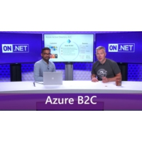 Logo of the podcast Customer Identity Management with Azure AD B2C | On .NET