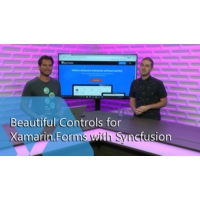 Logo of the podcast Beautiful Controls for Xamarin.Forms with Syncfusion | The Xamarin Show