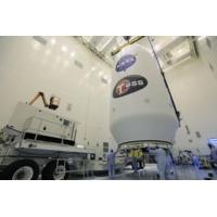 Logo du podcast SpaceX, la société d'Elon Musk, donne des sueurs froides à notre fusée Ariane