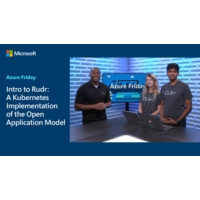Logo of the podcast Intro to Rudr: A Kubernetes Implementation of the Open Application Model | Azure Friday
