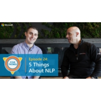 Logo of the podcast Episode 24: Five Things About NLP | Five Things