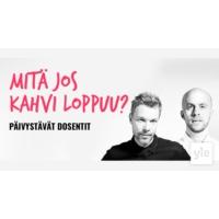 Logo of the podcast Mitä jos kahvi loppuu?