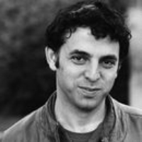 "Logo of the podcast Etgar Keret Reads ""To the Moon and Back"""