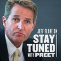 Logo of the podcast Resisting Trump (with Senator Jeff Flake)