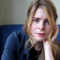 """Logo of the podcast Emma Cline Reads """"White Noise"""""""