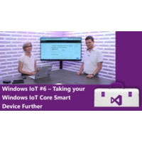 Logo of the podcast Windows IoT #6 – Taking your Windows IoT Core Smart Device Further | Visual Studio Toolbox