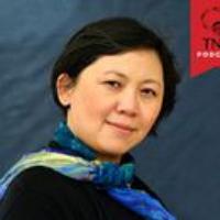 "Logo du podcast Yiyun Li Reads ""A Small Flame"""