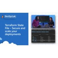 Logo of the podcast Terraform State File – Secure and scale your deployments | The DevOps Lab