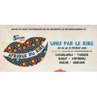 """Logo of the podcast Oualas, humoriste et initiateur du festival """"Afrique du rire"""""""