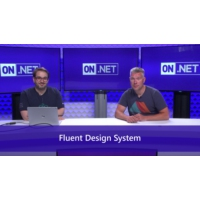Logo of the podcast Exploring the Fluent Design System | On .NET