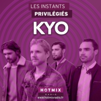 Logo of the podcast KYO interview dans Les Instants Privilégiés Hotmixradio.