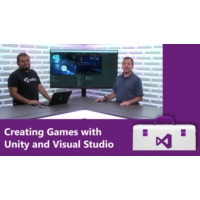 Logo of the podcast Creating Games with Unity and Visual Studio | Visual Studio Toolbox