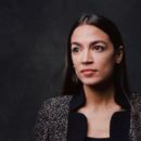Logo of the podcast Alexandria Ocasio-Cortez on the 2020 Presidential Race and Why We Should Break up Homeland Security