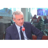 "Logo of the podcast Ascoval : ""British Steel tient ses engagements"", assure Bruno Le Maire sur RTL"