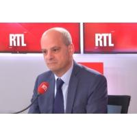 "Logo of the podcast Bac 2019 : ""L'examen aura lieu normalement"", assure Blanquer sur RTL"