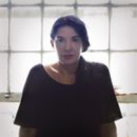 Logo of the podcast Come and Sit with Marina Abramović
