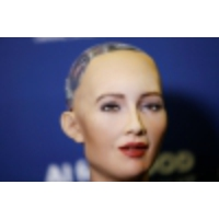 Logo of the podcast Saudi Arabia has a new citizen: Sophia the robot. But what does that even mean?