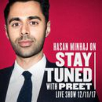 Logo of the podcast Stay Tuned Live (with Hasan Minhaj)