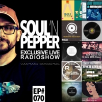 Logo of the podcast JOHN SOULPARK // SOUL'N PEPPER Radioshow // EP#70