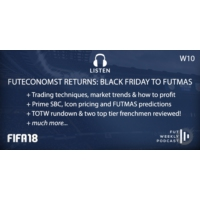 Logo du podcast W10: FUTEconomist Returns: Black Friday to FUTMAS