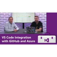 Logo of the podcast VS Code Integration with GitHub and Azure | Visual Studio Toolbox
