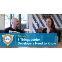 Logo du podcast Episode 19: Five Things Junior Developers Need to Know | Five Things